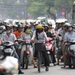 Conduire un scooter au Vietnam
