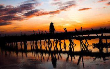 hoi an sunset sunrise