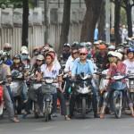 Le scooter au Vietnam