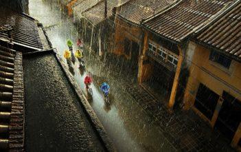 hoi an sous la pluie