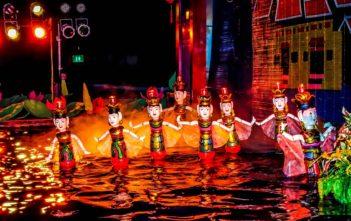 marionnettes sur eau hoi an