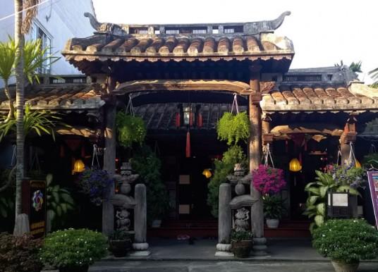 L'ancienne Maison de la rue 104 Thai Phien à Hoi An