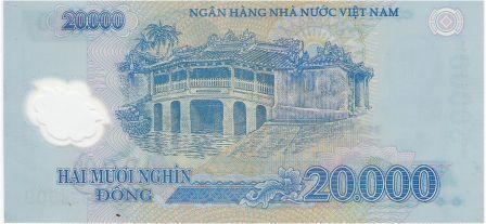 vietnam billet 20000 dong